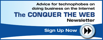 Sign up for our Newsletter - Conquer the Web